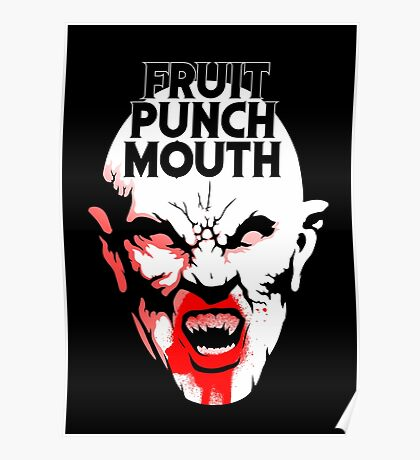 Fruit Punch Mouth Poster