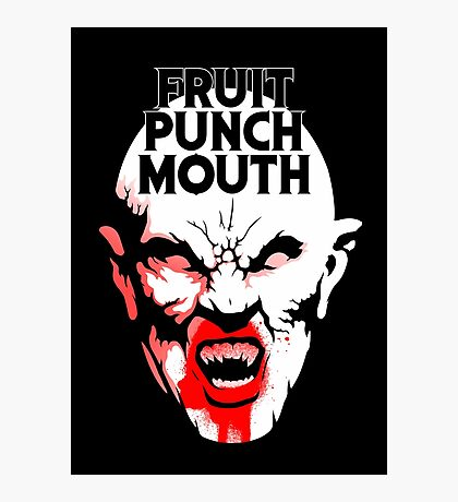 Fruit Punch Mouth Photographic Print