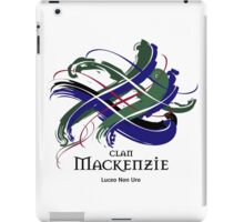 Clan Mackenzie - Prefer your gift on Black/White tell us at info@tangledtartan.com  iPad Case/Skin