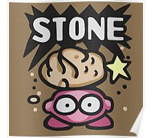 Kirby Stone Poster