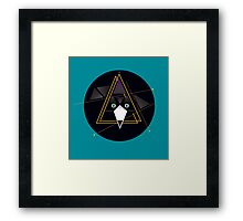 Mr Pippin, the abstract cat Framed Print