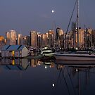 Vancouver Harbour at Night by Rae Tucker