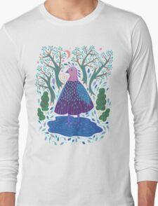 Bird Bath Long Sleeve T-Shirt
