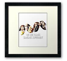 Someone's Experiment    Orphan Black Framed Print