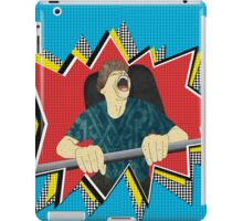 White knuckle roller coaster ride iPad Case/Skin