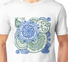 blue and green Unisex T-Shirt