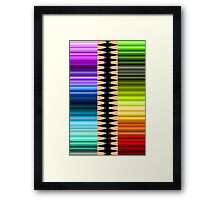 Be creative Framed Print