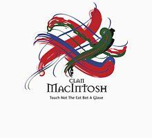 Clan MacIntosh - Prefer your gift on Black/White tell us at info@tangledtartan.com  Unisex T-Shirt