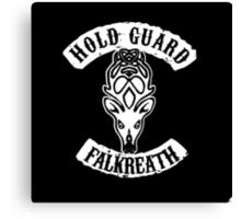 Hold guard Falkreath Canvas Print