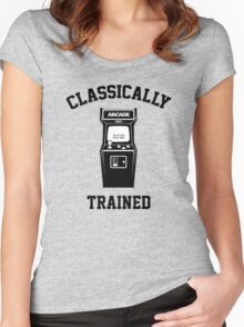 Gamer Classically Trained Women's Fitted Scoop T-Shirt
