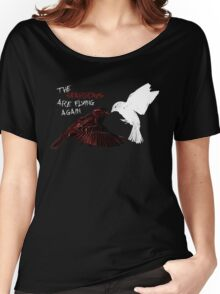 The Sparrows Are Flying Again Women's Relaxed Fit T-Shirt