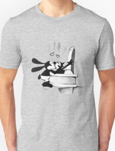Oswald and Ortencia Kissing Unisex T-Shirt