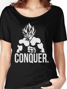 CONQUER - Goku as Mr. Olympia Women's Relaxed Fit T-Shirt