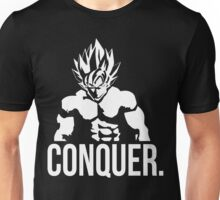 CONQUER - Goku as Mr. Olympia Unisex T-Shirt