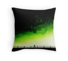 Toxic Fixie Throw Pillow