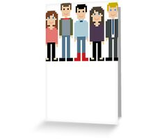 How I Met Your Mother Pixel Greeting Card