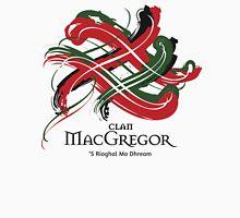 Clan MacGregor - Prefer your gift on Black/White tell us at info@tangledtartan.com  Unisex T-Shirt