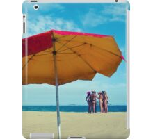Girls on beach iPad Case/Skin