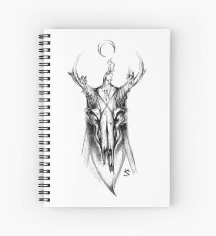 Demon Deer Spiral Notebook