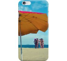 Girls on beach iPhone Case/Skin