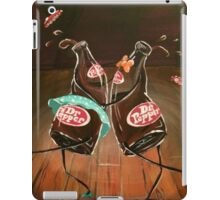 Swing Dancing Dr. Pepper Bottles iPad Case/Skin