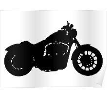 Harley Davidson Iron Poster