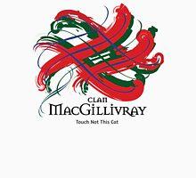 Clan MacGillivray -  Prefer your gift on Black/White tell us at info@tangledtartan.com  Unisex T-Shirt