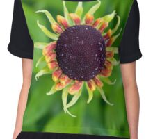 Sunflower Blast Chiffon Top
