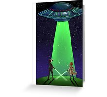 The X-Files / UFO Greeting Card