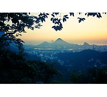 Rio sunrise Photographic Print