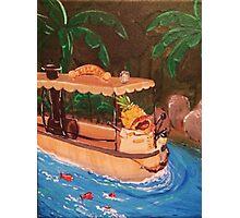 Screaming Pineapple Jungle Cruise Skipper Photographic Print