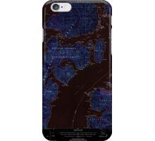 USGS TOPO Map Alaska AK Craig B-5 355274 2000 63360 Inverted iPhone Case/Skin
