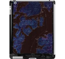 USGS TOPO Map Alaska AK Craig B-5 355274 2000 63360 Inverted iPad Case/Skin