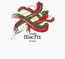 Clan MacFie - Prefer your gift on Black/White tell us at info@tangledtartan.com  Unisex T-Shirt