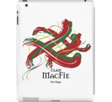 Clan MacFie - Prefer your gift on Black/White tell us at info@tangledtartan.com  iPad Case/Skin