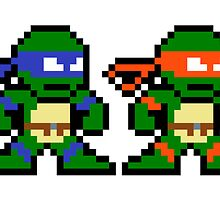 8-bit TMNT by groundhog7s