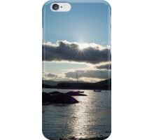 wild atlantic way ireland with a cold sunset iPhone Case/Skin