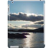 wild atlantic way ireland with a cold sunset iPad Case/Skin