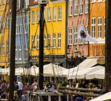 Nyhavn (Copenhagen) Sticker