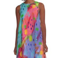 Confetti Party Series A-Line Dress