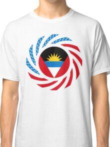 Antigua & Barbuda American Multinational Patriot Flag Classic T-Shirt