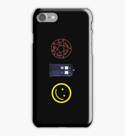 SuperWhoLock iPhone Case 3 iPhone Case/Skin