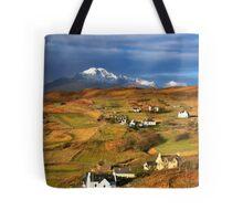 Tarskavaig Crofting Village, Isle of Skye, Scotland. Tote Bag