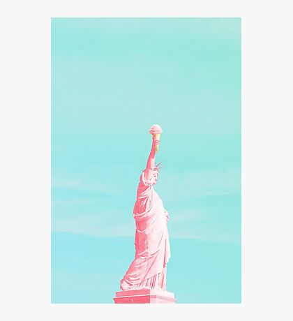 Liberty and Ice Cream for All Photographic Print