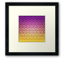 Spaceship Earth - Epcot At Night Framed Print