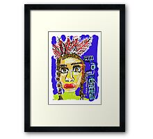 Boho Indian Framed Print