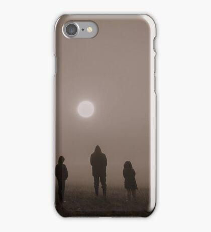 sun gazers iPhone Case/Skin