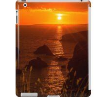 wild atlantic way rocky sunset iPad Case/Skin