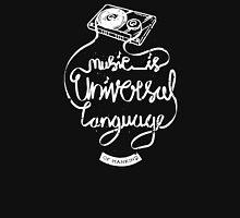 Music is the universal language of mankind Unisex T-Shirt