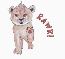 "Lion Cub Says ""Rawr!"" Kids Clothes"